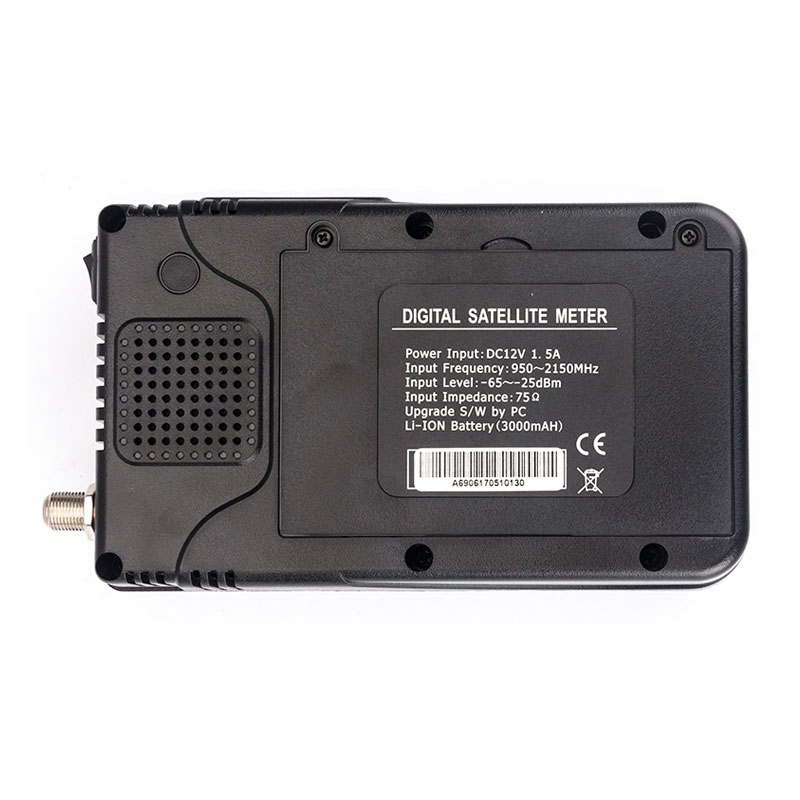 Satlink WS-6906 DVB-S satellite finder 3.5 inch LCD Display satellite tv receiver with AV cable search free channels