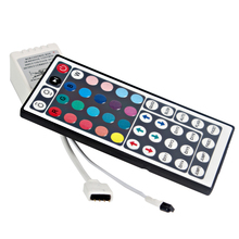 For RGB SMD 3528 5050 LED Strip Wireless DC 12V Home Decoration LED Strip Controller RGB Controlers IR Remote Dimmer 44 Keys