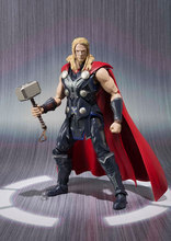 SAINTGI Marvel Avengers2 Assemble Thor Doll Super Heroes PVC 16CM Action Figure Collection Model Toys Dolls T507