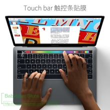High Clear Transparent Film Skin Guard Protector Sticker For Macbook Pro 13 Touch Bar A1706 15 A1707 Touchbar ID Stickers