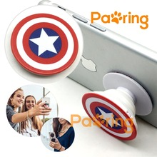POP SOCKET Super Hero Theme Portable Anti-fall Universal Phone Holder Stand with Car Mount and Gift Box Hot Sale