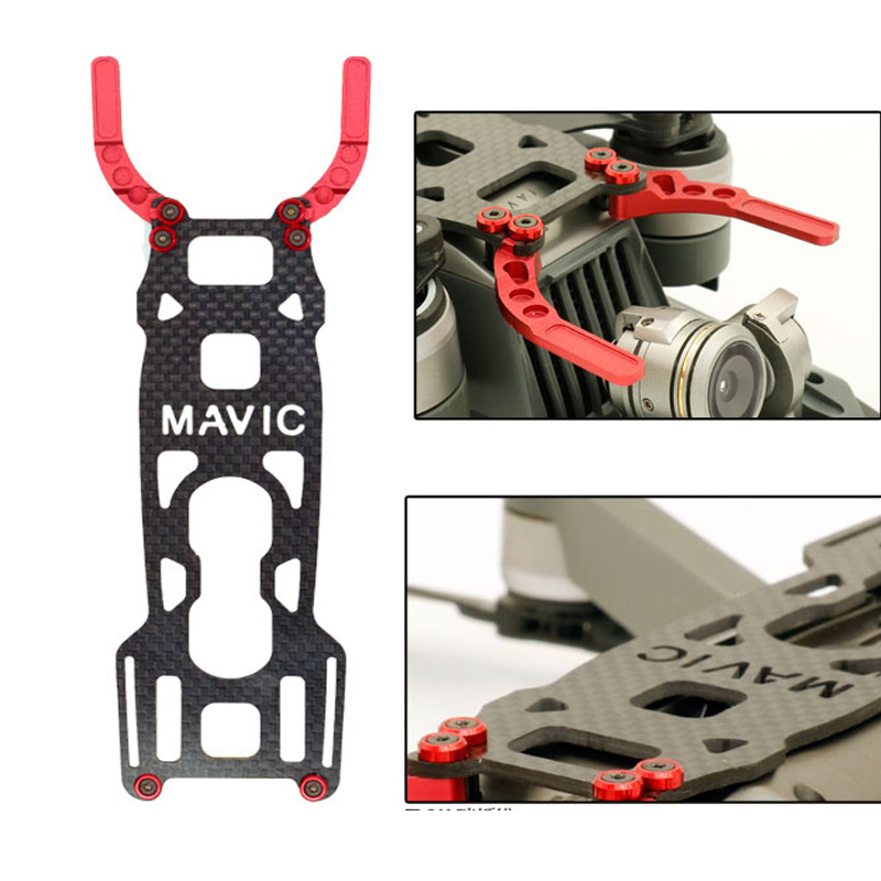 drone Body shell frame case Protection  camera gimbal guard Won't Affect obstacle avoidance system for DJI Mavic Pro 12 (4)
