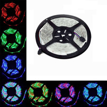 NEW 5m 12V 3A Waterproof IP65 5050 RGB SMD LED Flexible Strip light 150 LEDs CAR/house decoration(China)
