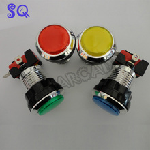 33mm Push Button Arcade Button Led Micro Switch Momentary Illuminated 12v Power Button Switch