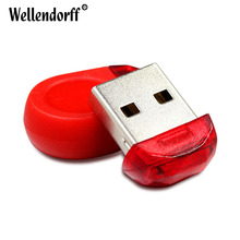 Super Mini Waterproof tiny USB Flash Drive Red 64GB 32GB 16GB 8GB 4GB USB 2.0 Flash Drive pen drive memory stick
