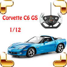 New Cool Gift 1/12 Chevrolet Corvette C6 GS RC Movie Roadster Car Remote Control Large Vehicle Electric Toys Race Boys Present(China)
