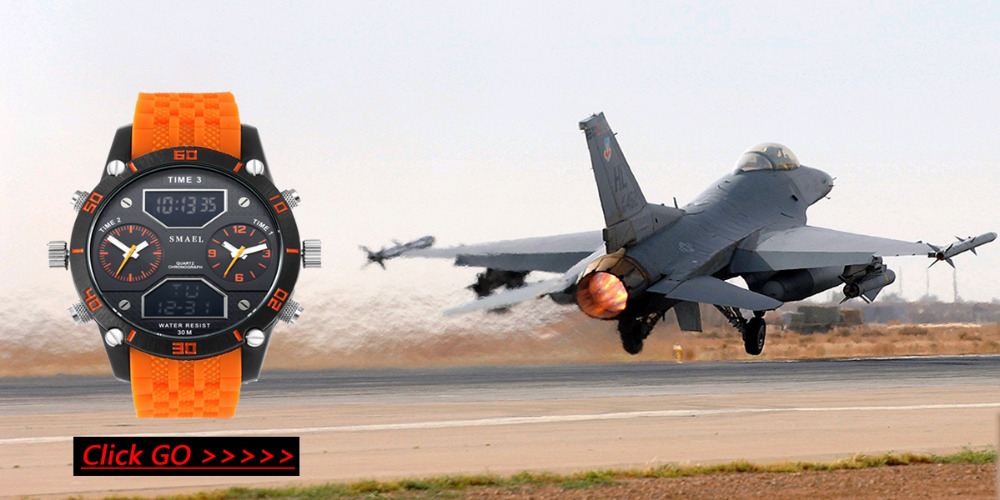 SMAELผู้ชายนาฬิกากองทัพดิจิตอลนาฬิกาสปอร์ตGสไตล์ช็อกนาฬิกาของมนุษย์1438นาฬิกาข้อมือm ontre homme LEDนาฬ... 27