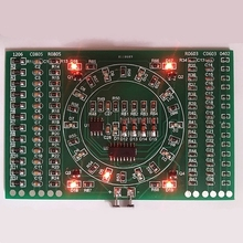SMD Flashing LED Components Soldering Practice Board Skill Electronic Circuit Z17 Drop ship(China)