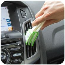 Cleaning Brush for Automotive Interior Car Air Conditioning Vent Cleaning Brushes Shutters Doors Windows Groove Dusting Brush