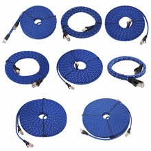 1/1.8/3/5/8/10/15/20M CAT7 RJ45 Ethernet Internet Network Patch LAN Flat Cable C26