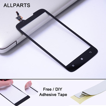 OEM Tested 5.0 inch Black White Touch screen For LENOVO A680 Touch Screen Digitizer Glass Panel Parts Free Adhesive