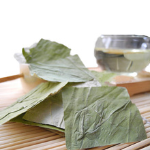 China Tea Natural Wild Lotus Leaf Sweet Mellow Aroma AuthenticTea  Dry Lotus Leaf 100g Smooth Sugar Free
