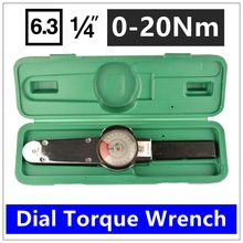 MXITA High precision pointer 1/4 0-20Nm Dial Repairing tools Digital torque wrench(China)