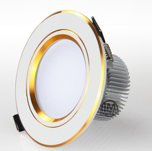 1Pcs 3W 5w 7W 12W  110V / 220V LED Ceiling Downlight Recessed LED Wall lamp Spot light With LED Driver For Home Lighting