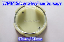 CAR STYLING High quality 4pcs/lot 56mm/57mm Silver  Wheel Center Cap Hub Caps Rims Cover emblem for Mazda badges decoration