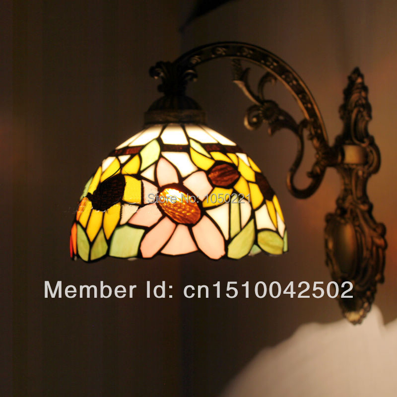 Tiffany Deco Wall Lamp  Energy Saving  Sconce the Wall Study Room Lighting Home Stained Glass Deco Wall Lamp<br><br>Aliexpress