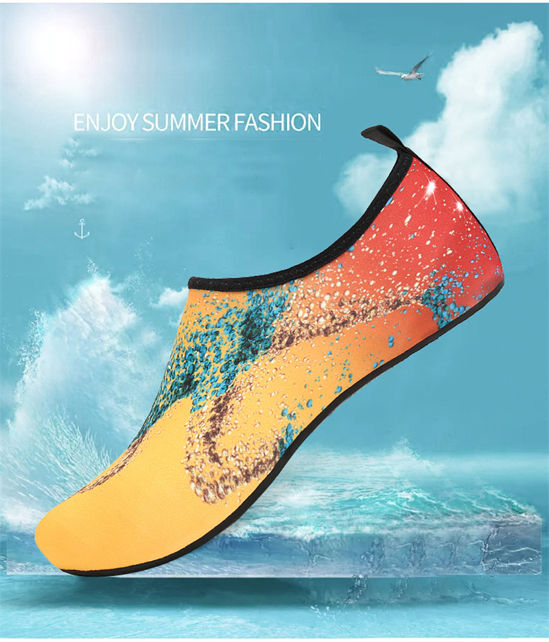 Soft Water Shoes Summer Shoes Men Beach Slippers Upstream Aqua Shoes Woman River Sandals Swimming Diving Socks Tenis Masculino 2