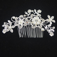 Wedding Bridal Pearl Hair Pins Flower Crystal Hair Clips Bridesmaid Jewelry wedding bridal accessories hair jewelry 8 Styles