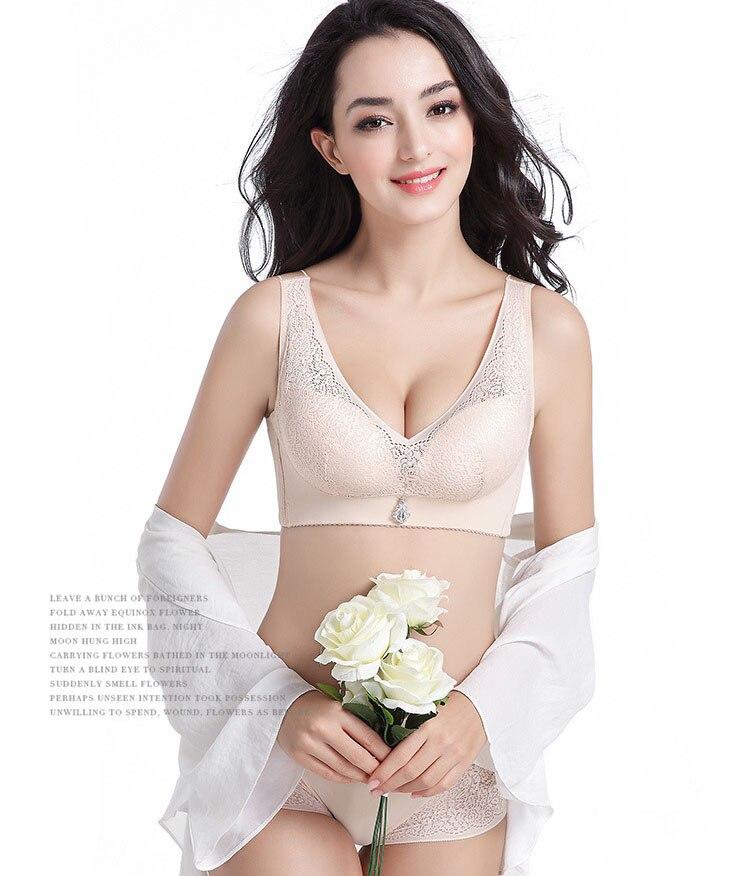 Jerrinut Lace Plus Large Big Size Push Up Bras For Women Wire Free Underwear Women Bralette Brassiere Femme Plus Size Bra 2.jpg17