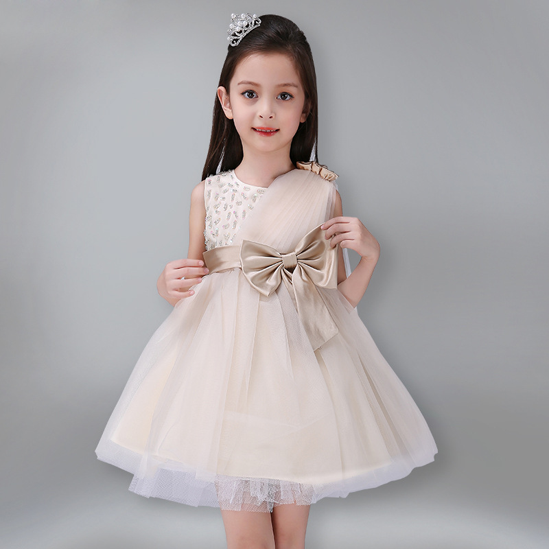 Girl Party Dress High-Quality Fashion Princess Dresses 2017 Spring &amp; Summer Dress Girl Ball Gown Flower Wedding Dress For 3-16Y<br><br>Aliexpress