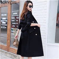 Fashion-Plus-Size-Women-2018-Spring-Autumn-Trench-Coats-Slim-Maxi-Long-Coat-Winter-Female