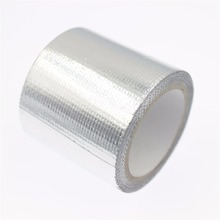 "RC Car Body Shell Aluminum Reinforced Tape Heat Shield Resistant Wrap Width: 50mm (1.97"") Length: 4m"