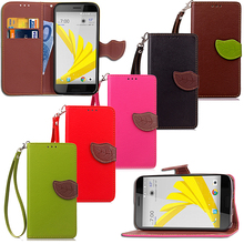 Leaf Case for HTC 10 Evo 2PYB2 5.5 Inch Flip Case Wallet Phone Leather Cover for HTC Bolt(China)