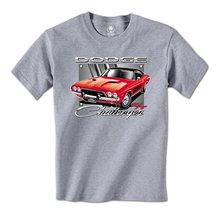 GILDAN man t-shirt Classic Dodge Challenger RT Hot Rod Officially Licensed Mens T-Shirt