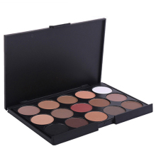 New Pro 15 Colors Eyeshadow Makeup Warm Nude Shimmer Eyeshadow Palette Cosmetic High Recommend