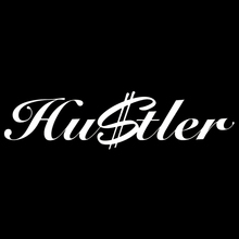 Hustler Sticker Money Funny $ fresh hip hop JDM Drift dollar lowered car window(China)