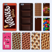 cute Wonka chocolate M'S chocolate design hard transparent Case Cover for Huawei P10 P8 P9 lite P7 Mate 7 8 Mate9 Mate S
