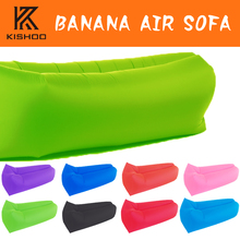 2017 new multi function travel outdoor inflatable air sofa sleeping bag Hiking Camping chair Portable Beach Sofa Lounge Banana