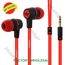 Wholesales 3.5mm in-ear  headsets music earphones for IPHONE 3 4 4s 5 5s for ipad 2 3 4 mini mp3 mp4 For samsung S5 S6