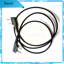 5pcs program copy cable for walkie talkie BAOFENG UV-5R UV-B6 BF-888S TG-UV2 WOUXUN KG-UVD1P TYT 2 way radio programming  cable