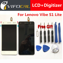 For Lenovo Vibe S1 Lite LCD display Touch Screen Test Good Digitizer Assembly Replacement For Lenovo Vibe S1 Lite Mobile Phone
