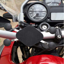 2017 Motorcycle phone holder 360 degree rotating universal with X-grip for smartphone TomTom GPS(China)