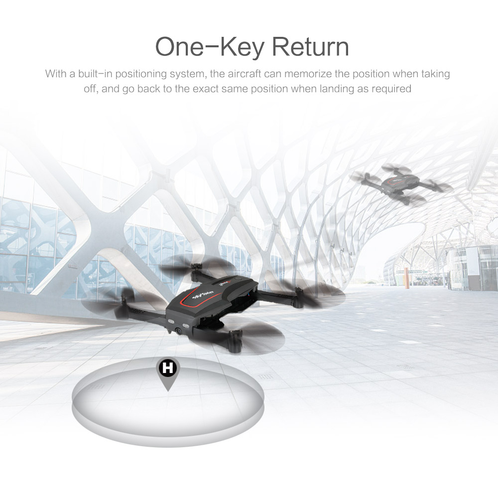 WL Tech Q626-B Wi-Fi FPV 720P RC Drone with Camera HD Selfie Drone Altitude Hold RC Quadcopter RTF Helicopter Dron Machine (8)