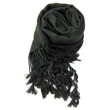 Women Ladies Neck Scarf Plain Pashmina Shawl Hijab Wrap Top Quality Cashmere Silk Scarves