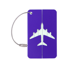 New High Quality Aluminium Travel Luggage Baggage Tags Trave Accessories Suitcase Identity Address Name Labels