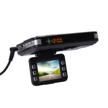 3-in-1 720P HD Car DVR GPS Car Camera Recorder Mobile Radar Speed Detector GPS Radar Speed Detector English / Russian(China)
