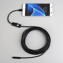 1.5M 7MM Waterproof IP67 Android Endoscope Inspection USB Borescope Tube Snake Mini Cameras Micro Camera