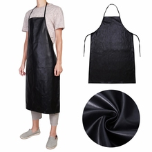 2017 Leather Anti-oil Apron NaroFace Kitchen BBQ Restaurant Catering Cooking Waterproof Restaurant Cooking Aprons Black