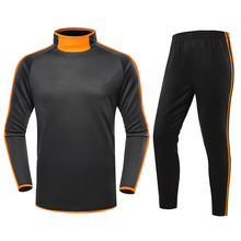 Adult Child Football Training Suit Men Kids Long Sleeve Soccer Tracksuit Soccer Training Set XXS 4XL Autumn Winter Bare Board