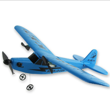 portable radio control airplane wireless remote control EPP foam paper airplane ready to fly rc toys airplane model for children(China)