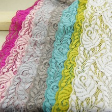 1 yards Width 6.5CM Elastic Lace Fabric diy clothes fabric accessories sewing wedding supplies(China)