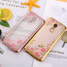 Buy KMUYSL Case Xiaomi Redmi 5 5 Plus Silicone Bling Diamond Clear Cover Soft TPU Flower Case Xiomi Redmi Note 4X 4 Pro Case for $1.25 in AliExpress store