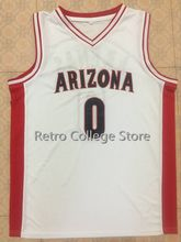 0 Gilbert Arenas Arizona Wildcats Red white Basketball Jerseys Embroidery Stitched Personalized Custom any size and name(China)