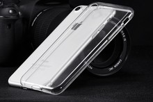 T Transparent Clear Case for iPhone 7 for iPhone 7 Plus Soft Silica Gel TPU Case Silicone Cover Ultra Thin Mobile Phone Case(China)