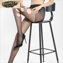 Buy 2016 Fashion Women Nylon Invisible Transparent Sheer Thin Tights Ultra Slim Sexy Female Pantyhose Seamless Stockings