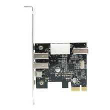 PCI Express 3 IEEE 1394A controller card 2-port 6Pin + 1 port 4Pin Firewire ports PCI-e Video Capture card(China)